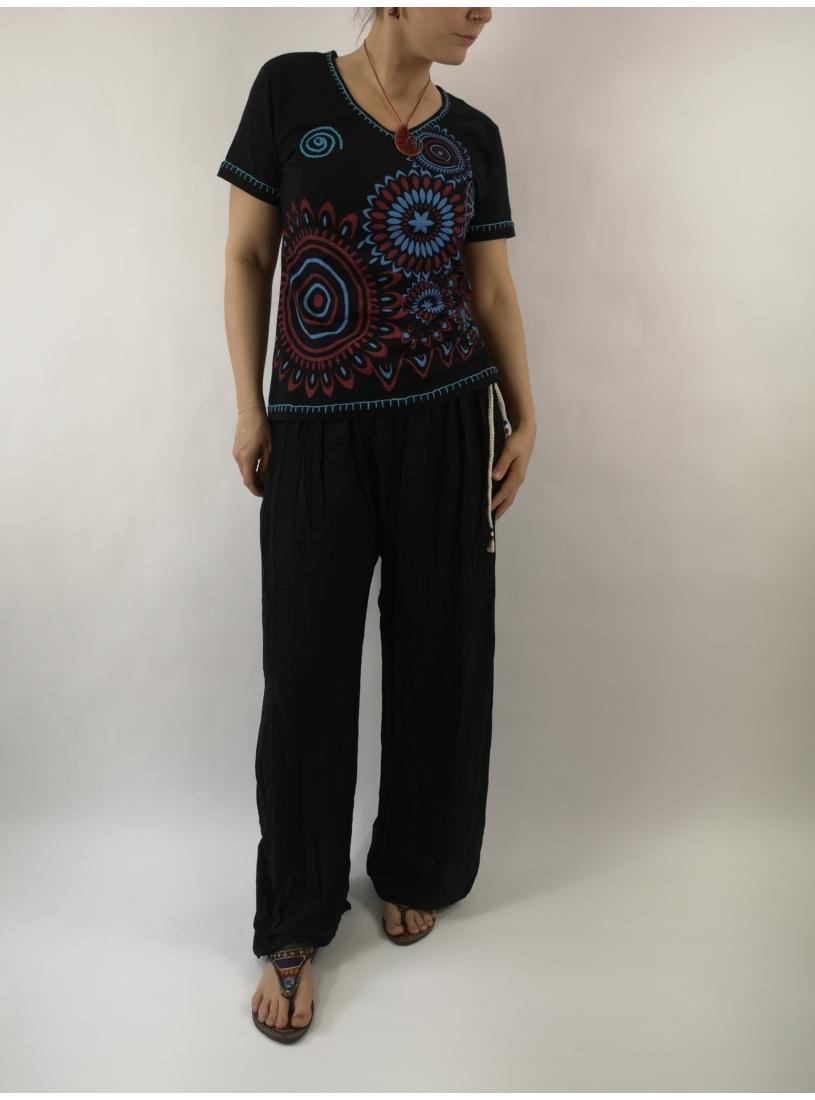 Laza, basic nadrág - fekete