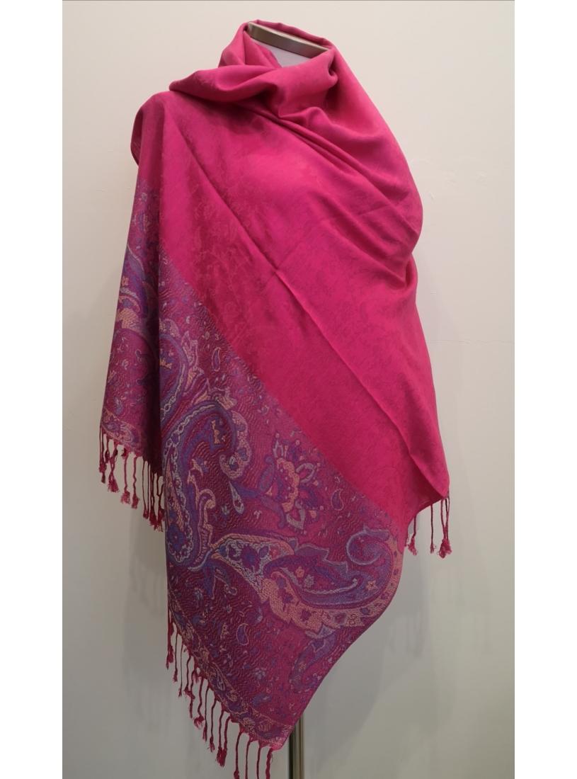 Orientál kendő - pink