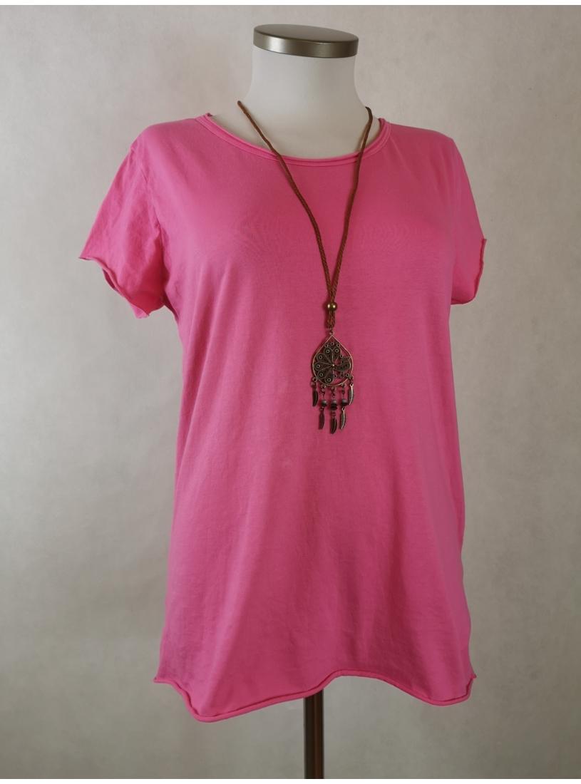 Basic felső - pink