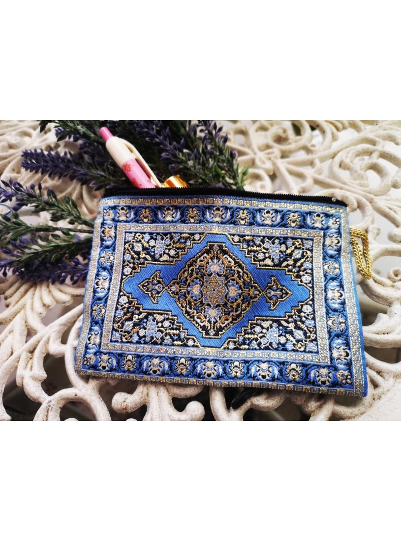 Kék - oriental pénztárca