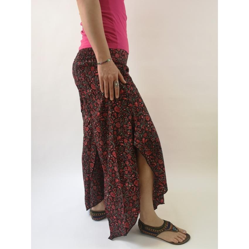 Indiai nadrág - apró virágmintás