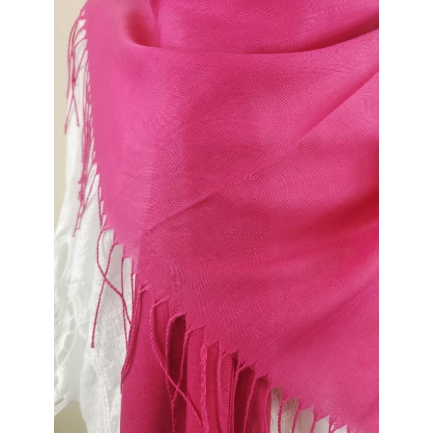 Kasmir kendő - pink
