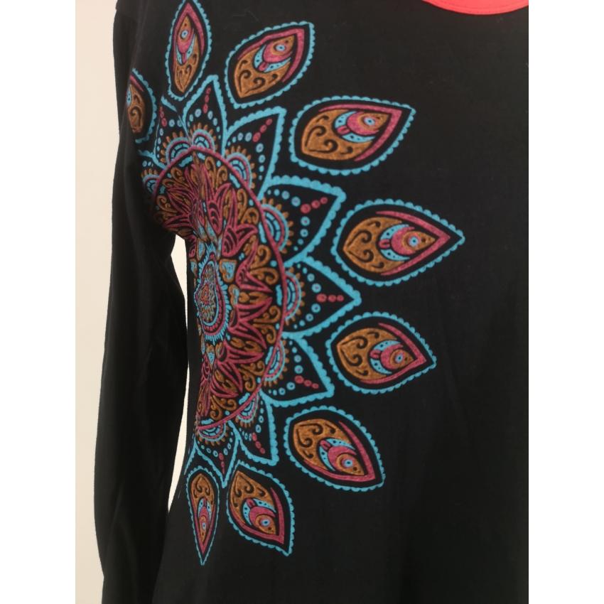 Orientál - mandalás ruha