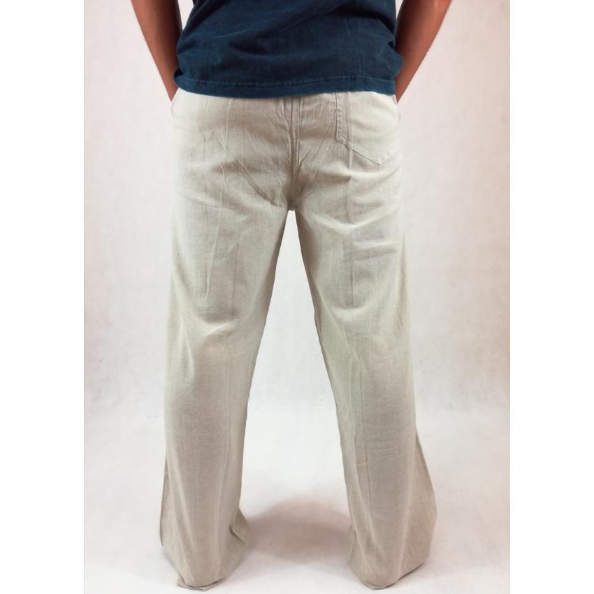 Vászon nadrág - ekrü