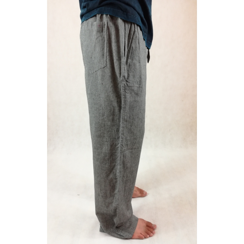 Vászon nadrág - szürke