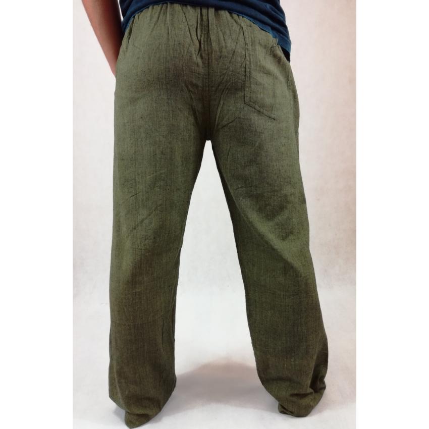 Vászon nadrág - zöld