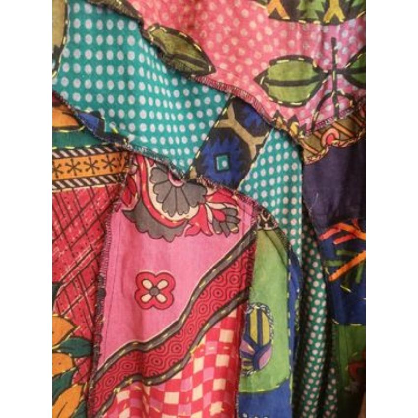 Boho  - patchwork szoknya